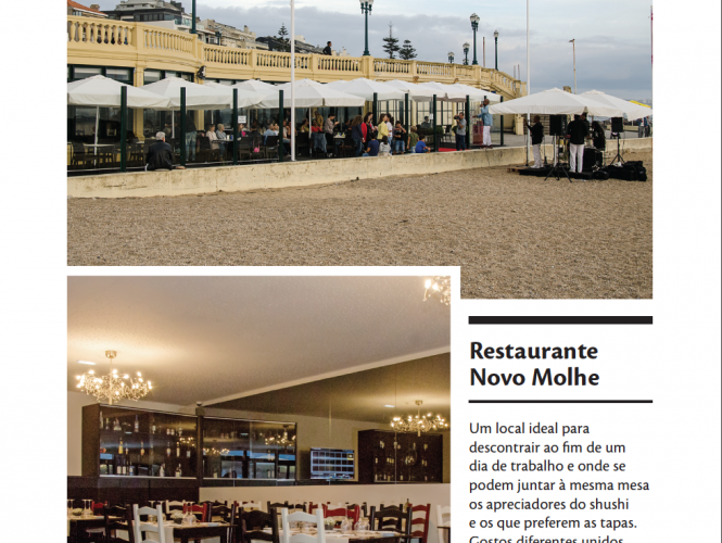 O Restaurante Novo Molhe na Revista Do It!